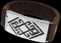 Leather and Silver Bracelets