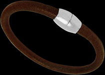 leather and stainless steel bracelets, Leather bracelets, stainless steel jewelry