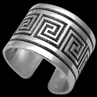 Sterling Silver Greek Rings
