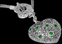 Sterling Silver Necklaces with Gemstones by Anixi Silver Jewlery