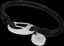 Leather Stainless Steel Bracelets