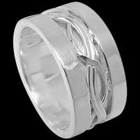 .925 Sterling Silver Rings AZ-601