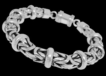 Silver Bracelets - Sterling Silver Bracelets - Bracelet B676 by Anixi Jewelry :  mens jewelry silver jewelry silver rings sterling silver jewellery