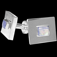 Sterling Silver Cufflinks - Men's Cuff Links