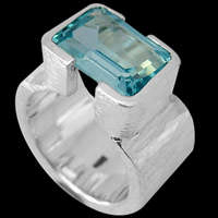 Topaz Rings - Sterling Silver and Topaz Rings