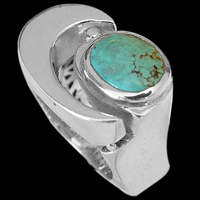 Sterling Silver Turquoise Rings